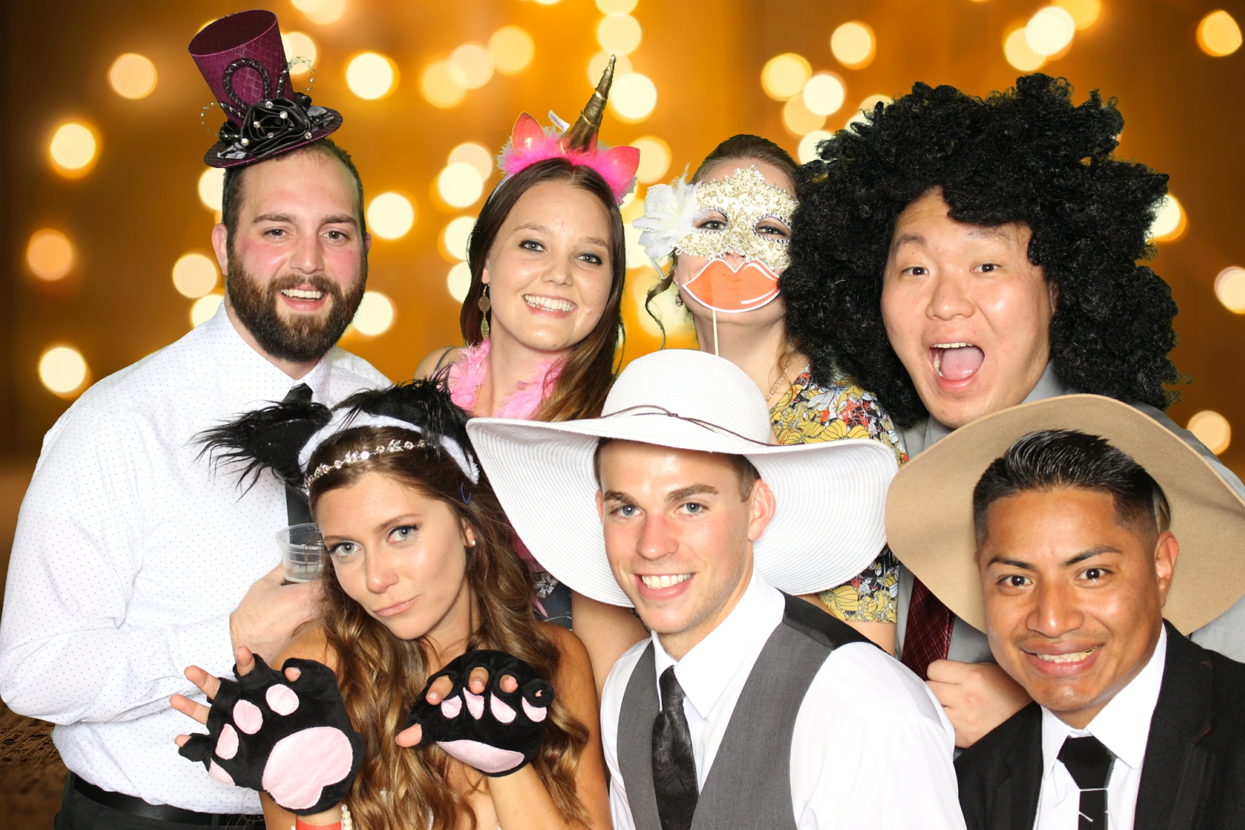 Midwest Selfies Photo Booth Manitowish Waters Wedding