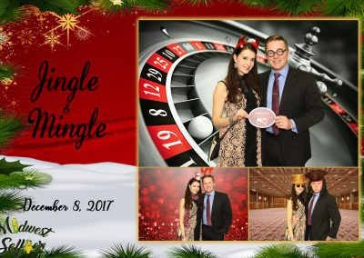 Midwest Selfies photo booth corporate event holiday party green screen Wausau Wisconsin
